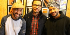 Arismendy, Marcos, and Charly from The X Collective. Photo courtesy of Patrick Wall, from DNAinfo.com